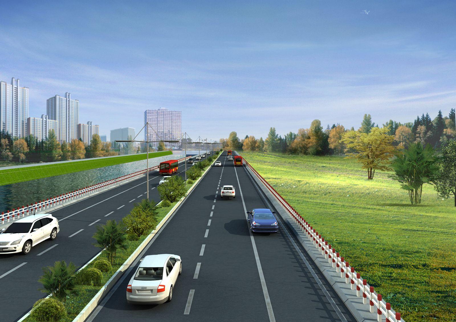 Trực tiếp thi công các công trình đường nội thị, đường cao tốc, quốc lộ