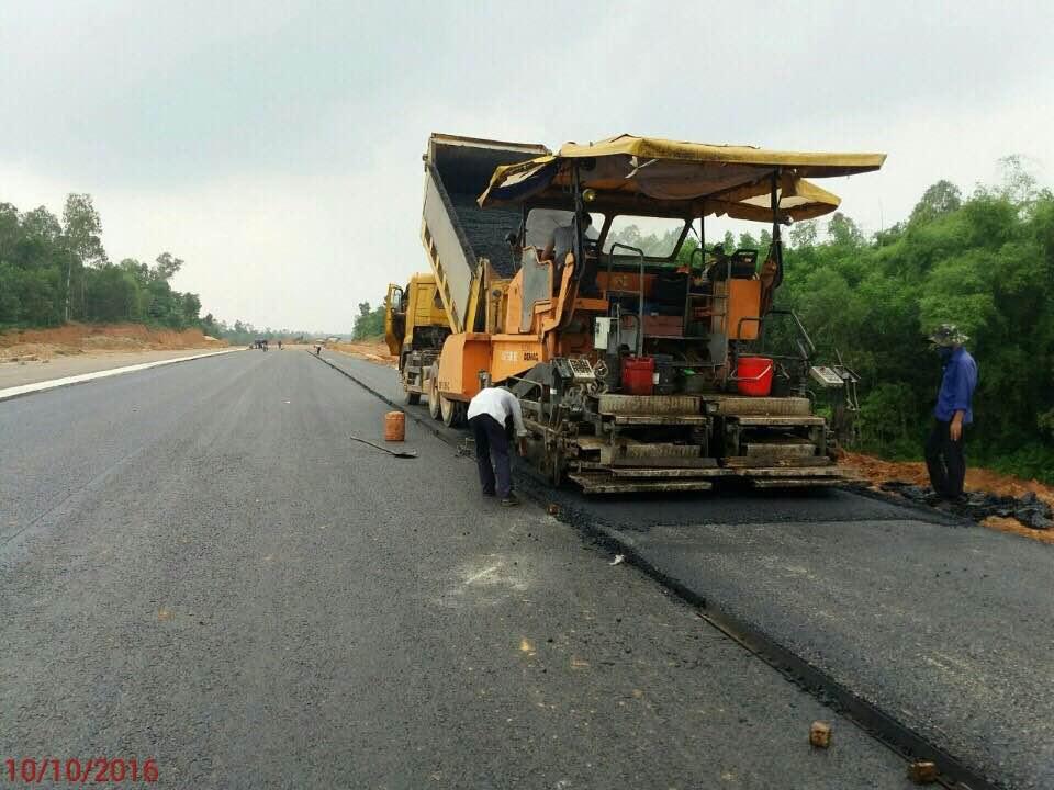 Thi công Dự án Đường Cao tốc Đà Nẵng - Quảng Ngãi - Gói thầu số 6